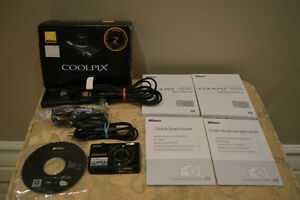 Nikon Coolpix S570 12MP Digital Camera with 5x Wide Angle Zoom