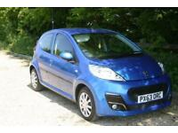 Only done 16227 Miles PEUGEOT 107 CAT C ACTIVE with NEW MOT and SERVICE HISTORY