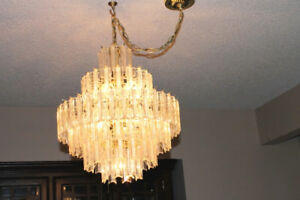 Dining Room And Front Entrance Chandeliers