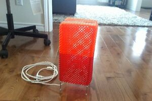Ikea Red and Orange Table Lamp