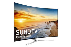 """Selling Samsung 55"""" QLED Curved SUHD 4k tv"""