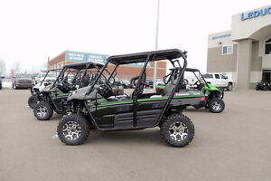 NEW 2016 KAWASAKI SIDE BY SIDE & ATV SALES EVENT !! BEST BUY!!