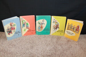 Vintage School Readers - Set of 6