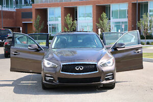 Lease Takeover - 2015 Infiniti Q50 3.7L AWD, only $417/month!