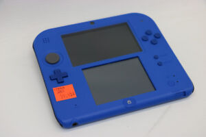 **ELECTRIC BLUE**  Nintendo 2DS with Charger (#17658)