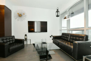 At The Top!! 1BR+Den Downtown Montreal 35th floor Avenue