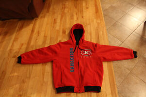 New Hoody Double Side Habs Jacket. Value of $150