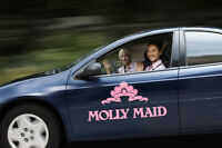 MOLLY MAID IS HIRING IN MIDLAND AND ORILLIA!!