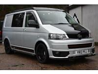 2012 12 Vw Transporter T5 T32 2.0BiTDi 180 Ps Sportline 4 Berth Camper Leather