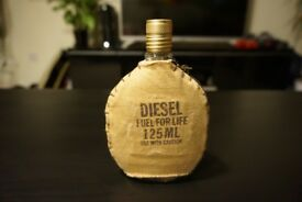 Diesel Fuel For Life Aftershave Fragrance slightly used, 100ml+ remaining