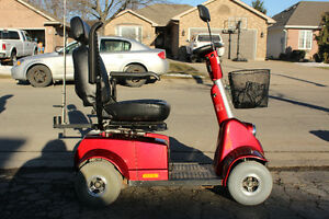 Fortress 1700 TA 4-Wheel Mobility Scooter