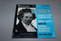 BEETHOVEN Complete Nine Symphonies 7 RECORDS LP ( brand new)