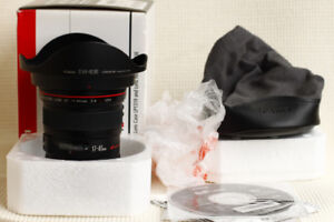 BRAND NEW in box Canon Zoom Lens EF 17-40mm f4 L USM for sale