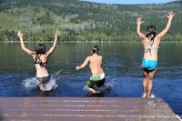 CABIN FOR SALE - East Barriere Lake - On a Gem of  a Lake!