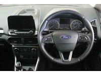 2018 Ford Ecosport 1.0T EcoBoost Zetec Manual SUV Petrol Manual