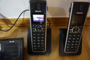 telephone avec repondeur sans fill a 3 combines