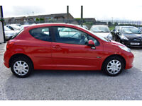 Peugeot 207 1.4 M-PLAY 3 DOOR RED 2008 MODEL +BEAUTIFUL+