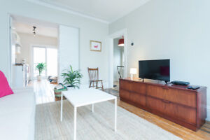 Central 2 bedroom apartment everything incl