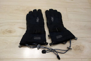 Outdoor Research Revolution leather ski gloves