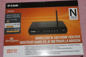 New D LINK ROUTER for Computer Wireless