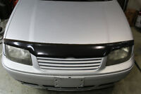 MK4 Volkswagen Jetta - Hood Mounted Bug Deflector - Black - VW