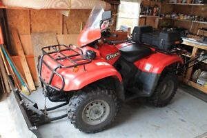 ATV, PLOW, AND WINCH FOR SALE