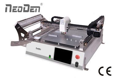 Smd Robot Pick And Place Machine Neoden3v Model With 2 Headsupdown Cameras-j