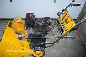 7 hp single stage snowblower