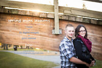 SPRING MINI-SESSION ONLY $100