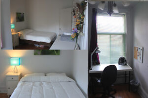 Large room in beautiful 6 1/2 Plateau Apartment - Summer Sublet