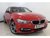 2014 64 BMW 3 SERIES 1.6 316I SPORT 4DR AUTOMATIC 135 BHP