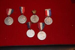 Various commemorative medals