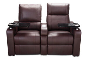 electric couch with cup holders free door to door delivery
