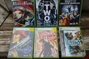 6  DIFFERENT  X BOX 360 GAMES   ALL FOR ONLY $25.00 London Ontario image 1