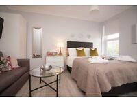 Studio flat in Helena house Brownlow Road, Reading, RG1