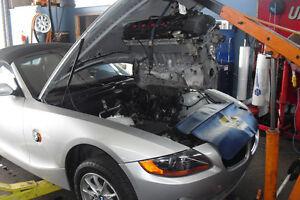 BMW Mécanique à partir de 60$/h 450-281-1053 membres CLUB MEC