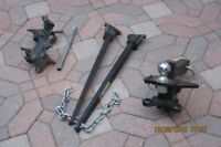 Trailer hitch with torsion bars - $ 175.00