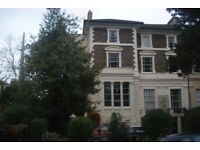 Lovely two bed flat with private balcony and parking