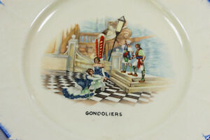 Antique Coronetware Parrot & Company plates Mikado & Gondoliers Kingston Kingston Area image 4