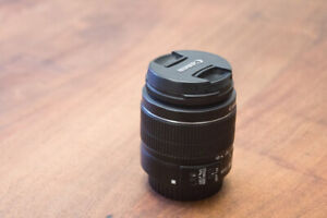 Canon EF-S 18-55mm IS II lens