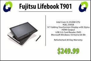 Fujitsu Lifebook T901 Refurbished Laptop GradeA - 360 Computers