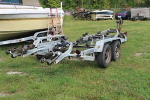 BOAT TRAILERS  BIG AND SMALL FROM $300 TO $2495.00