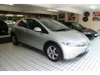 Honda Civic 2.2i-CTDi ES , ONLY 75,000 MILES , 65 MPG