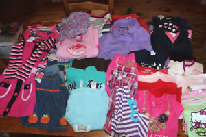 Box Lot of Girl's Size 4 Clothes