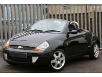 Ford Streetka 1.6 2004 Luxury 1 PREVIOUS OWNER+GENUINE LOW MILES+BARGAIN PRICE!!