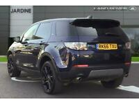 2016 Land Rover Discovery Sport 2.0 TD4 180 HSE Black 5dr Auto Station Wagon Die