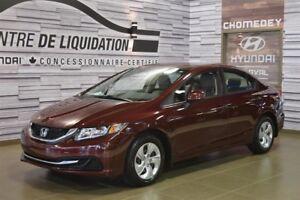 2013 Honda Civic LX+GR ELECTRIQUE+AIR CLIM