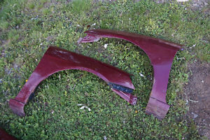 Set of two 2001 to 2005 Honda Civic Fenders