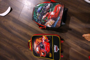 Toddler little suitcase/backpack