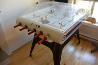 Table de hockey à dôme Carrom Bubble hockey table
